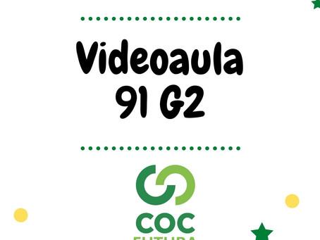 Videoaula 91 G2 Educação Infantil