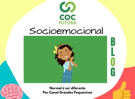 Normal é ser diferente Socioemocional Educação Infantil