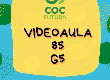 Videoaula 85 G5 Educação Infantil