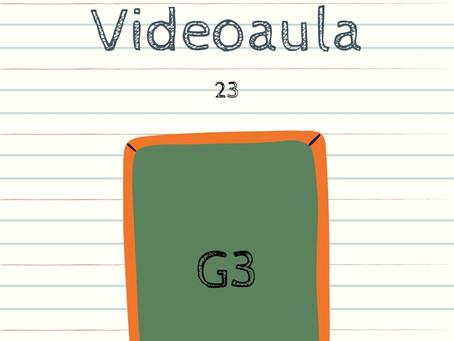 Videoaula 23 G3 Educação Infantil