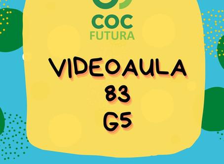 Videoaula 83 G5 Educação Infantil
