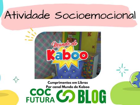 Cumprimentos em Libras Socioemocional Educação Infantil