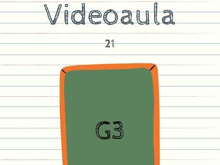 Videoaula 21 G3 Educação Infantil