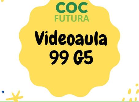 Videoaula 99 G5 Educação Infantil