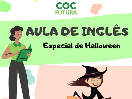 Especial de Halloween Inglês Educação Infantil