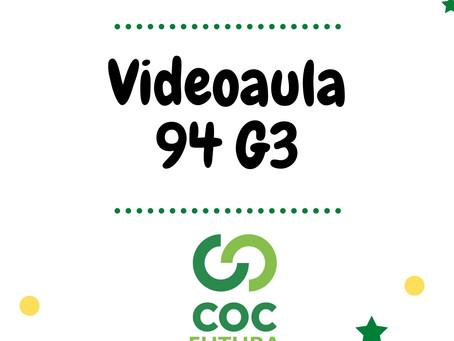 Videoaula 94 G3 Educação Infantil
