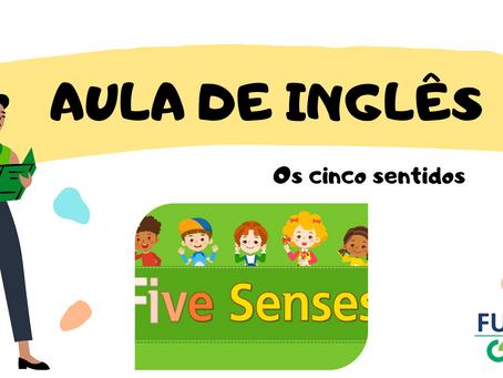 Os Cinco Sentidos Inglês Educação Infantil