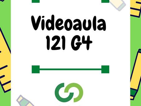 Videoaula 121 G4 Educação Infantil