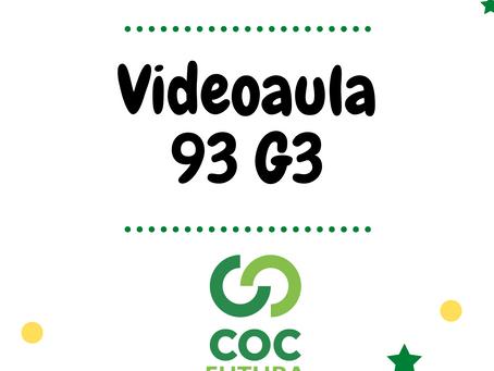 Videoaula 93 G3 Educação Infantil