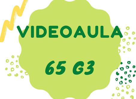 Videoaula 65 G3 Educação Infantil