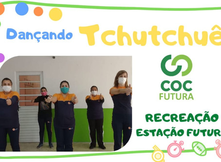 Dançando Tchutchuê Recreação Educação Infantil