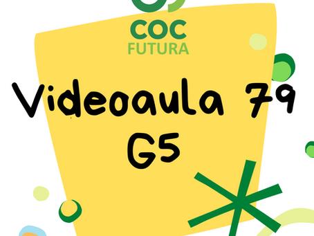 Videoaula 79 G5 Educação Infantil