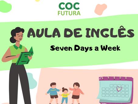 Seven Days a Week Inglês Educação Infantil