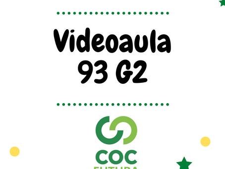 Videoaula 93 G2 Educação Infantil
