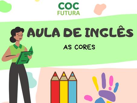 As Cores em inglês-Educação Infantil