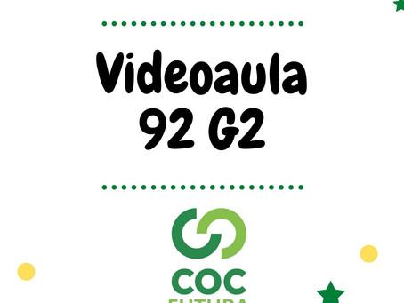 Videoaula 92 G2 Educação Infantil