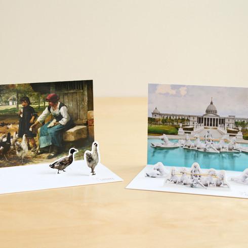 奇美博物館 2D明信片