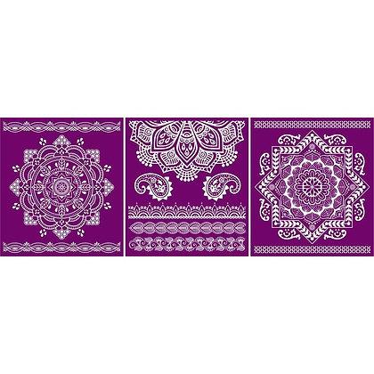 Silk Screen Stencil - Mandala