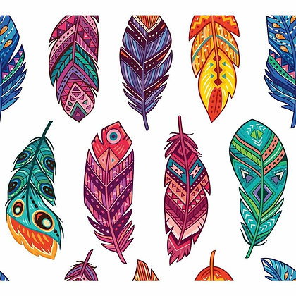 DB Rice Paper - Feathers
