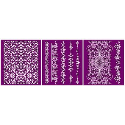 Silk Screen Stencil - Delicate Lace