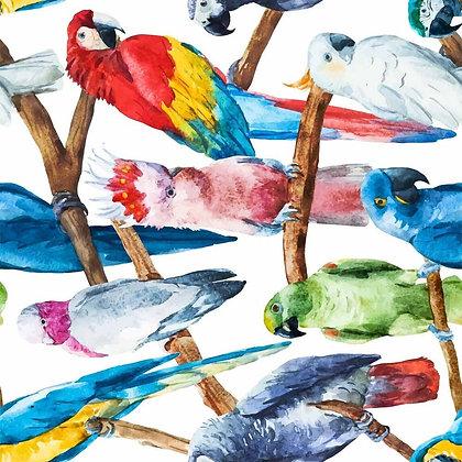 DB Rice Paper - Birds