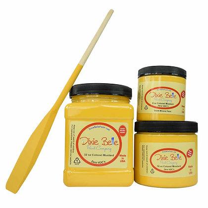 Dixie Belle Chalk Mineral Paint - Colonel Mustard