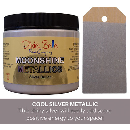 Dixie Belle Moonshine Metallic - Silver Bullet