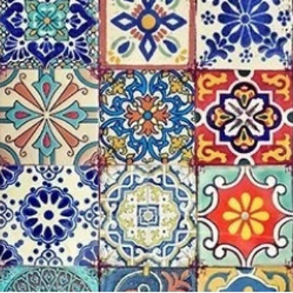 DB Rice Paper - Colourful Tiles