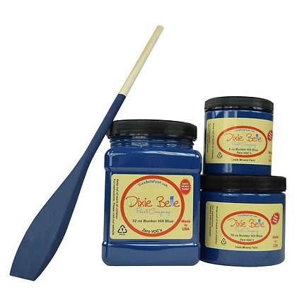 Dixie Belle Chalk Mineral Paint - Bunker Hill Blue