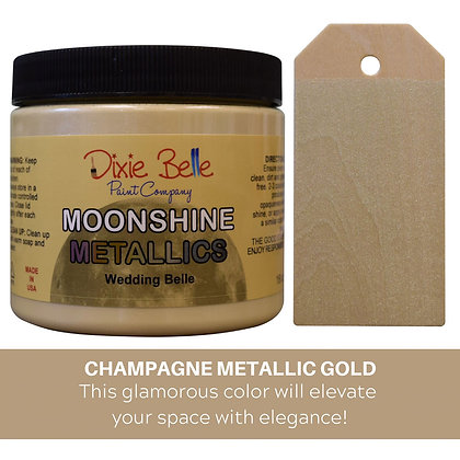 Dixie Belle Moonshine Metallic - Wedding Belle
