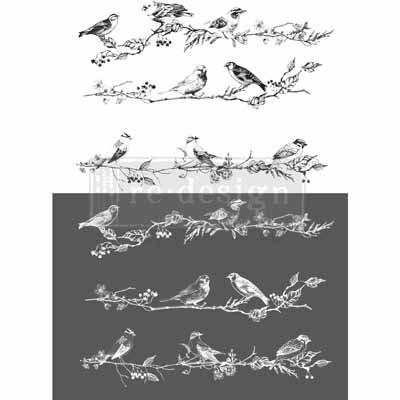 ReDesign Transfer - Birds & Berries