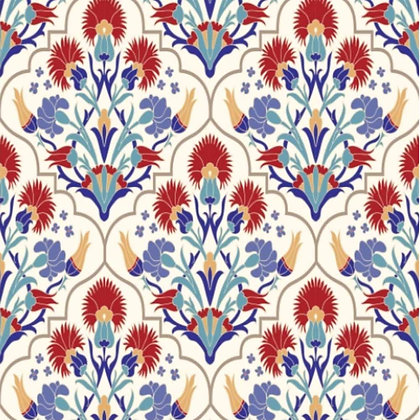 DB Rice Paper - Whimsical Mediterranean