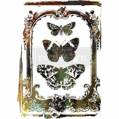 ReDesign Transfer - Butterfly Frame