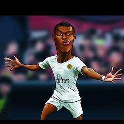 #worldcup2018 #mbappe #digitalillustrati