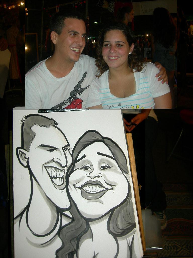 ציורים בחיפה אור ויצמן קריקטורות לאירועים050.jpg