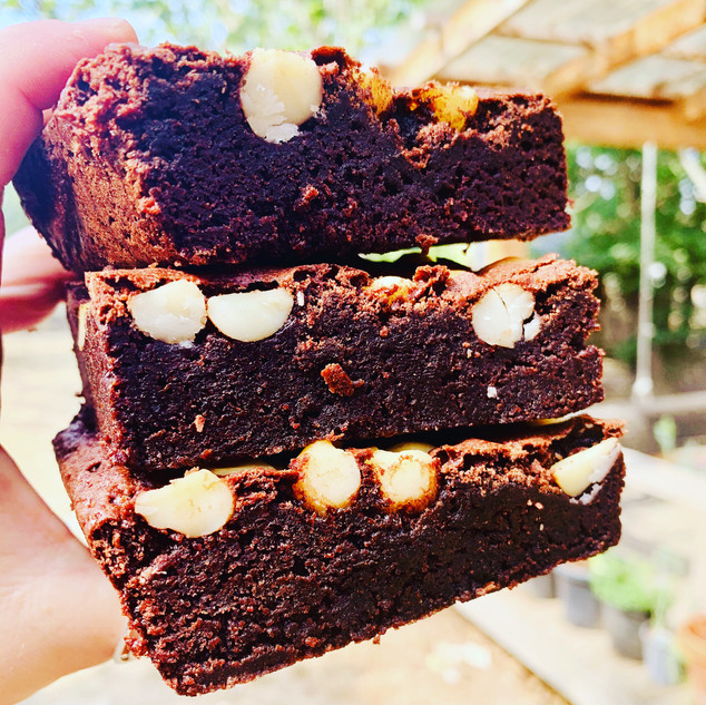 Gluten Free Macadamia Nut Brownie.JPG