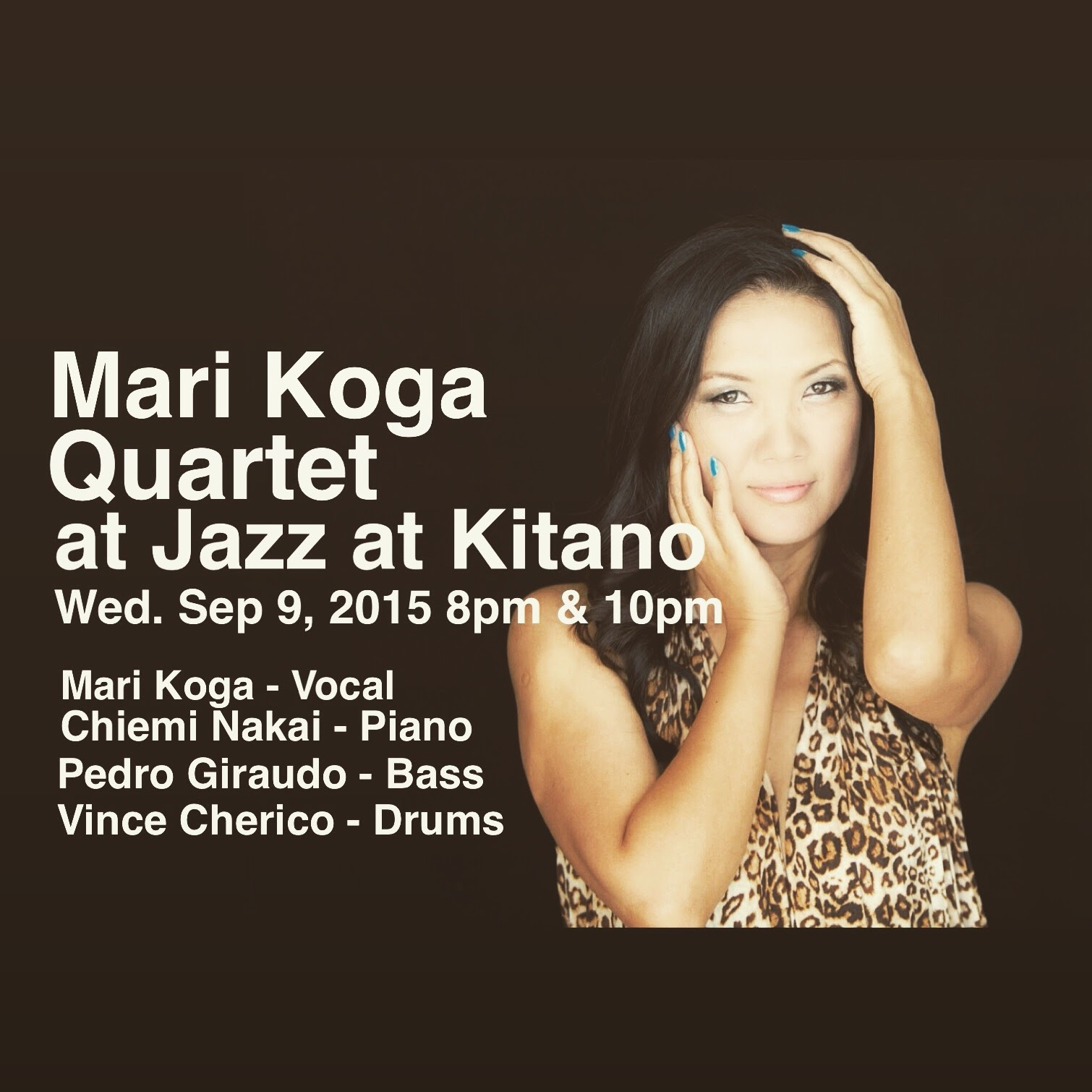 Mari Koga Quartet  at Jazz at Kitano
