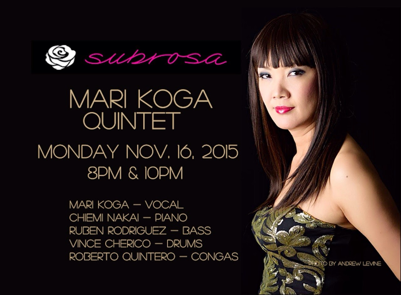 Subrosa Latin Jazz Mondays