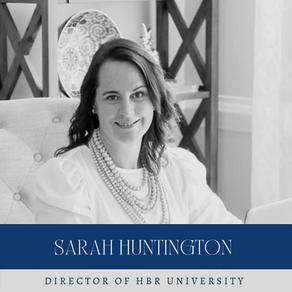 Meet Sarah Huntington, Director of HBR University
