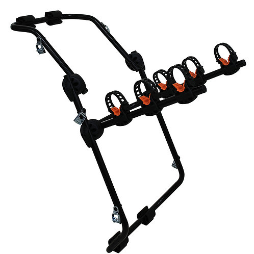 SB-10-201-3C 3 Bicycles Rear Steel Rubber Bike Carrier
