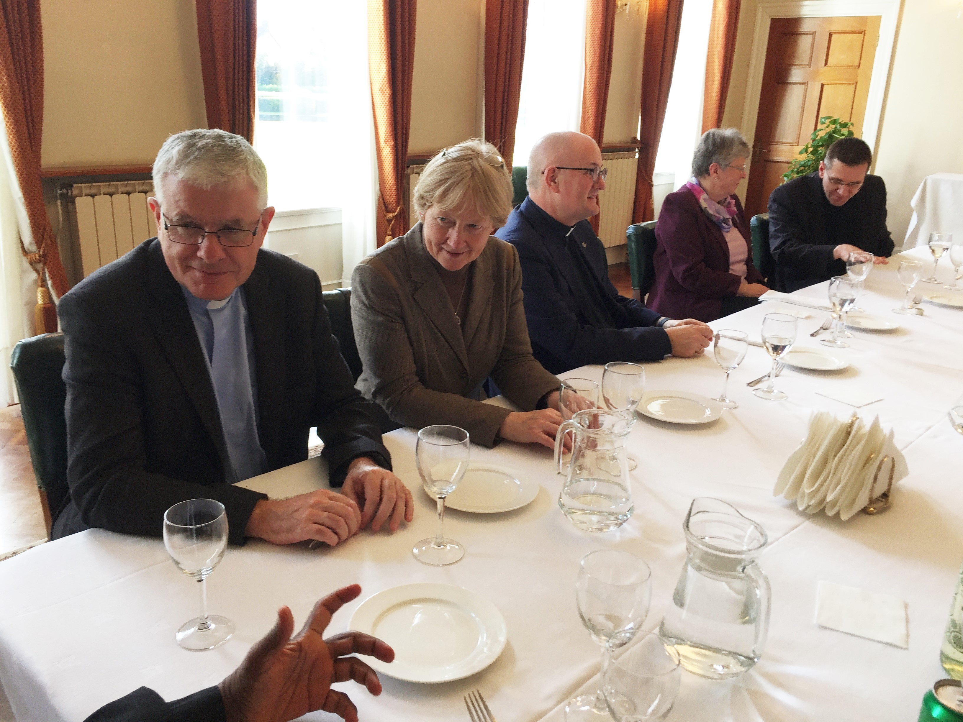 Lunch with the Apostolic Nuncio