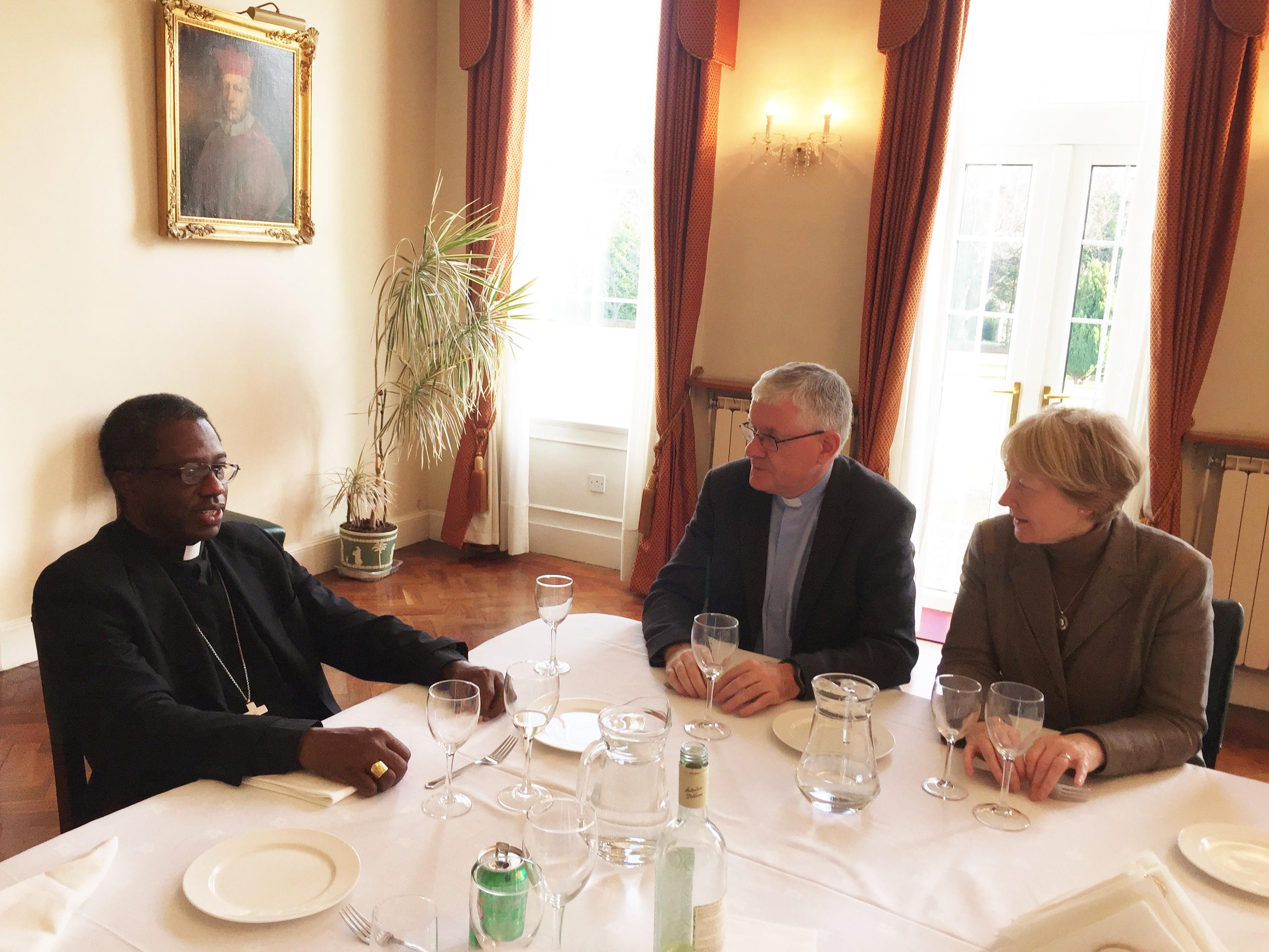 Apostolic Nuncio, Archbishop Okolo