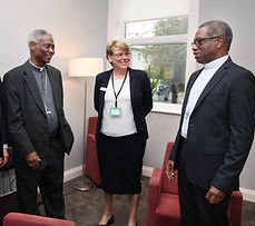 Cardinal Turkson in conversation with Sr