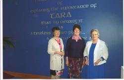 Mary and Maura with Liz, Tara Centre