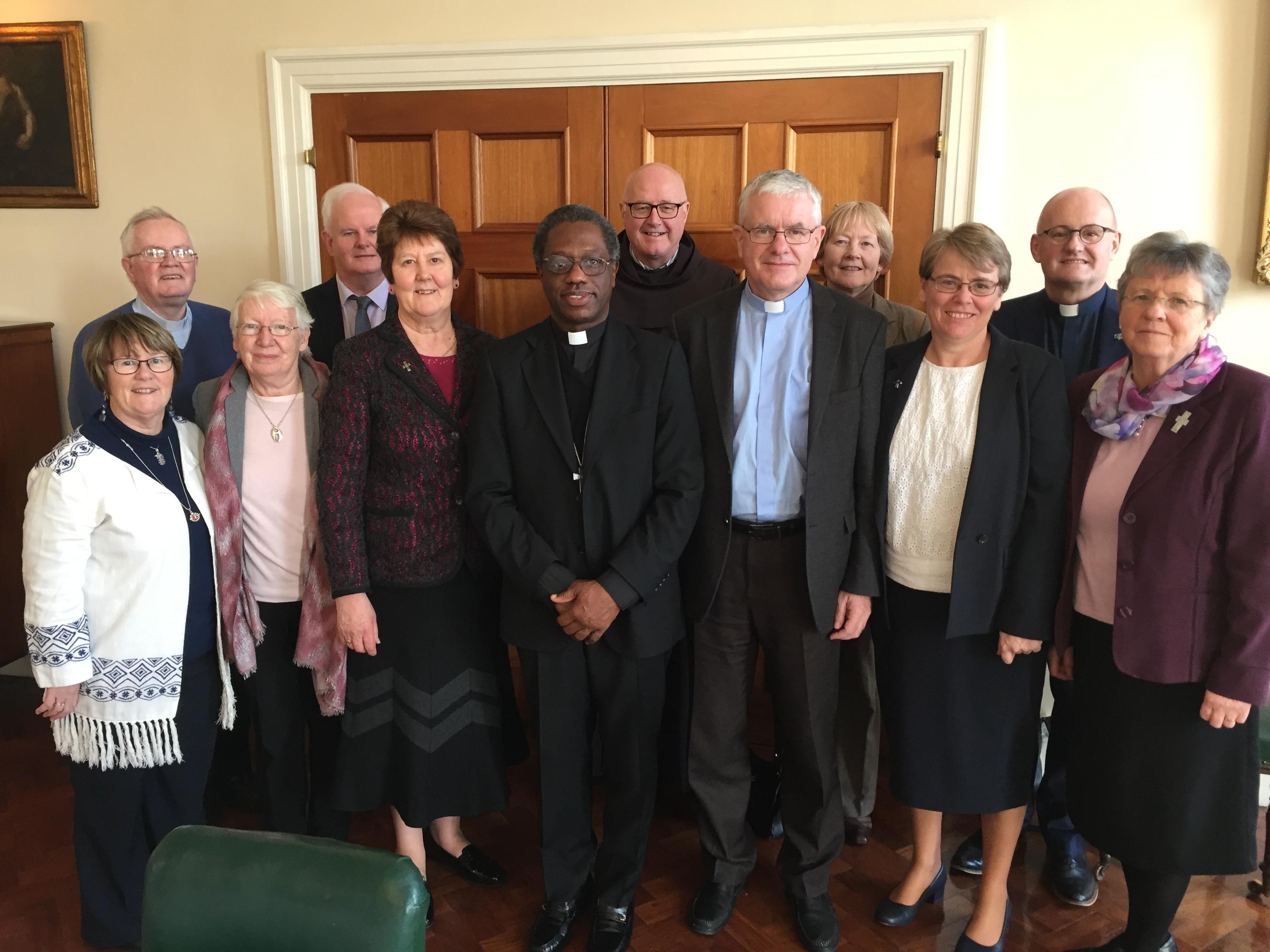 Meeting the Apostolic Nuncio