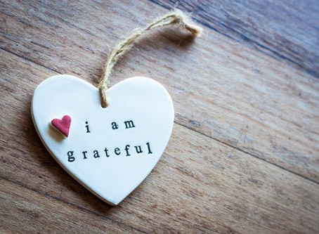 GRATITUDE TURNS WHAT WE HAVE INTO ENOUGH!