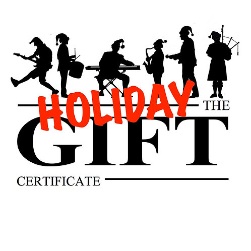 Holiday Gift Certificates - 20% discount