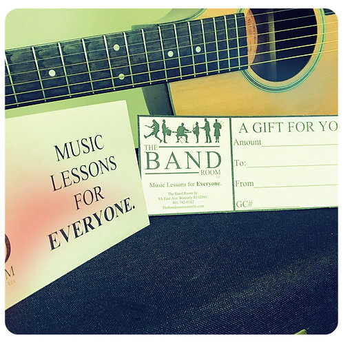 Gift Certificate - 4 Lessons