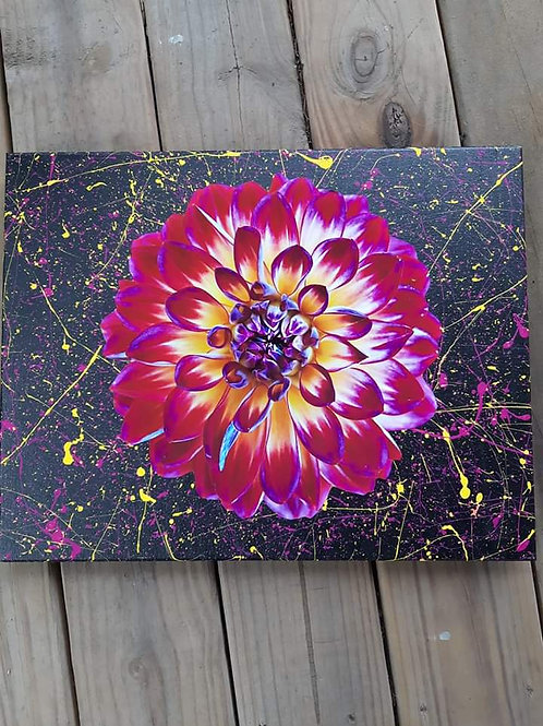 Flower Power - Mixed Media