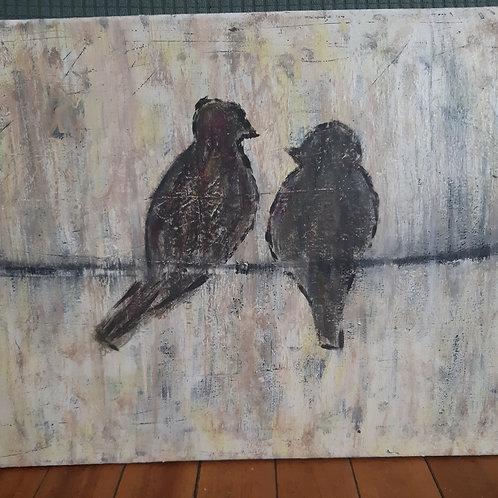 Lovebirds - SOLD!